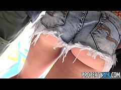 PropertySex - Horny blonde cheats on her boyfri...