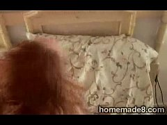 Redhead MILF smashed by her husband in homemade...