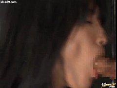 天海麗のSM・女王様,スローフェラチオ,タマ舐め動画