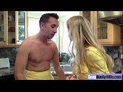(alexis fawx) Horny Busty Wife In Hard Style Ba...