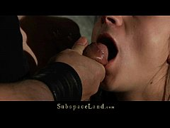 Merciless humiliation for slave submitted to ha...