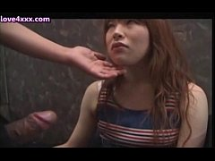 Teen asian cutie doing deeptroath with shy