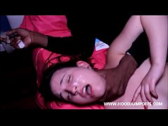 SUBMISSIVE WHITE WHORE GETS DOMINATED & SPIT ON...
