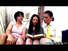 Old teacher asks two teens to undress and mastu...