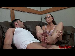 Worship Roxanne Rae's Feet For a Footjob with L...