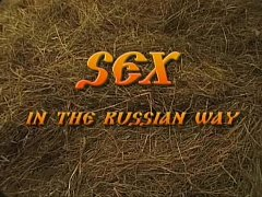 Sex in the russian way