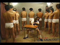 Bukkake Highschool Lesson 4 1/4 Japanese uncens...