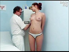 Camilla gyno chair pussy speculum exam at kinky...