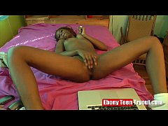 Ebony Teen Model Nesha