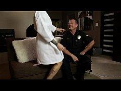 A cop shows up at the nuru massage spa! - Kleio...
