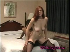 Karena recommend Submissive on her knees