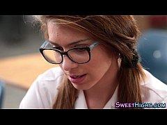 Highschool teen spex jizz