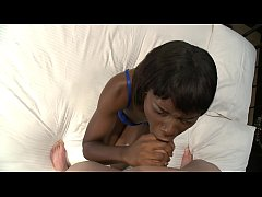 Ebony whore loves holding the camera while getting fucked
