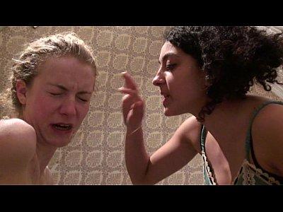 2 girls gagging