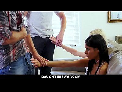 Group Sex Blonde video: DaughterSwap - Hot Daughters Hypnotized By Dads