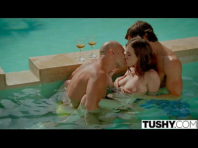 TUSHY First Double Penetration For Stunning Anya Olsen