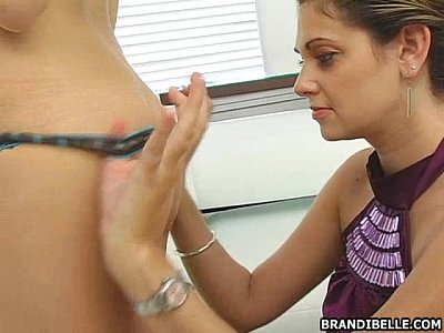 Amateur Tits movie: Fucked with a Strapon - Brandi Belle