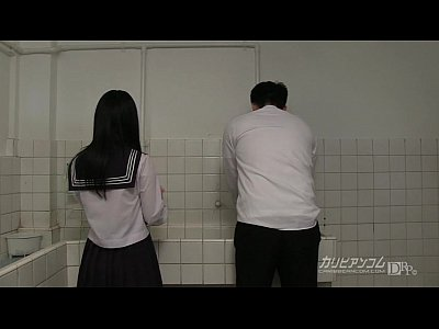 Japanese Public video: innocent school girl gives blowjobs and hand jobs for extra credit