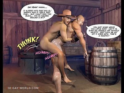 from Gary 3d gay world how the west was hung