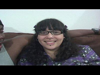 Hardcore Brunette Cumshot video: Brunette fucks a black stud she just met