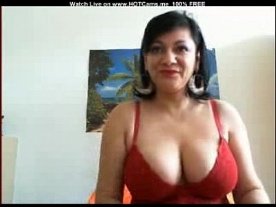 Amateur Spanish Mature With Big Boobs