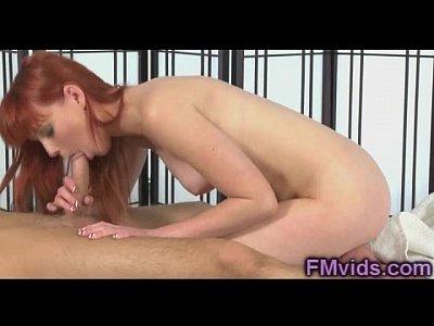 splendida bellezza rossa marie mccray gioca con il cazzo