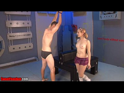 Porno video: She Said I Can Take Your Balls FEMDOM BONDAGE HANDJOB
