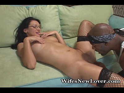 Interracial Lingerie Glasses video: Wife Is HOT In Fuckable Lingerie