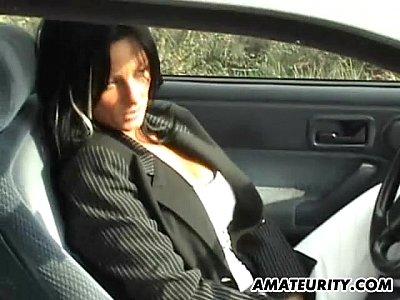 Mamica Excitata La Maxim Se Fute In Masina Cu Amantul