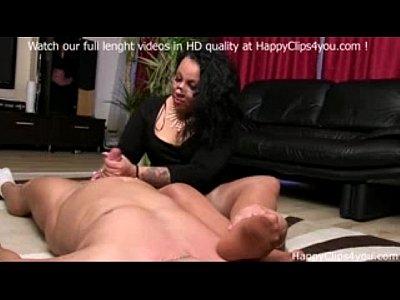 Bbw Cumshot Foot video: Gina foot smelling handjob