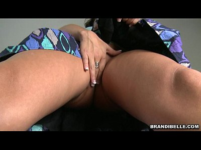 Brunette Handjob Smalltits video: Watching a Handjob - Brandi Belle