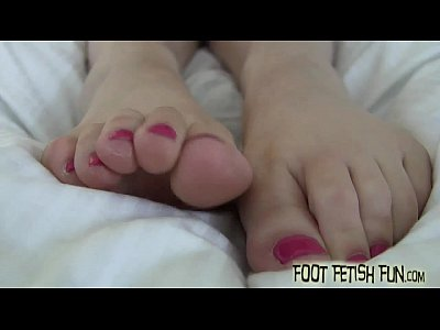 Foot Footfetish Footfetish video: If you are a good boy I will give you a footjob
