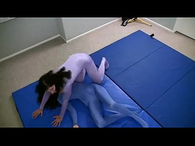 American Wrestling Spandex vid: Heroine Catfight American Princess vs Italian Assassin
