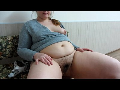 Bbw Fetish Fisting video: The girl makes a fisting of her fat girlfriend with a hairy pussy.