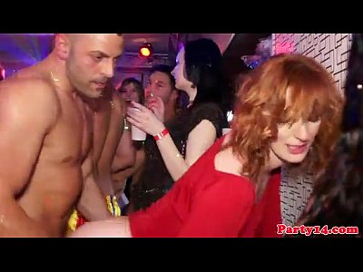 Cum Czech Hardcore video: Who is the redhead? (Party Hardcore Gone Crazy Vol. 2)