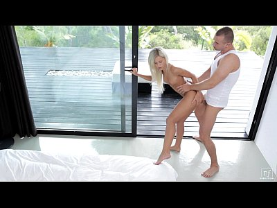 Beautiful Blonde Cuminmouth video: NubileFilms - Dido Angel swallows
