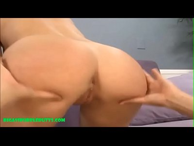 Bubble Butt Cum video: bubble butt pounded and cum on ass