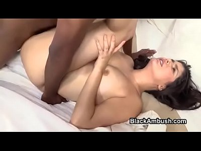 Interracial Teen 18 video: Teen Anal and Creampie from Big Black Cock