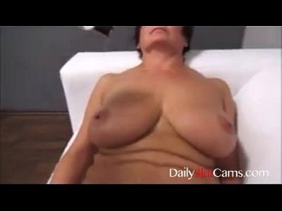 Son plays with moms tits