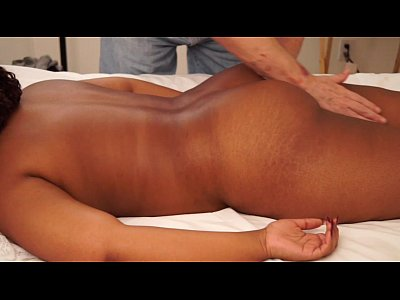 Girl Gets A Massage Before Fucking