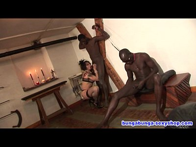 Bigcock Bigtits Blackguys video: Sheila Stone italian milf pornostar and black guys. Directed by Roby Bianchi