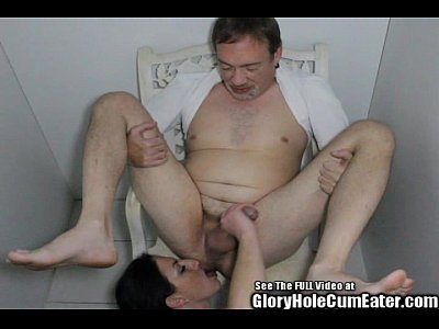 Group Brunette Glory video: Ass licking glory hole slut Staci sucking and fucking strangers