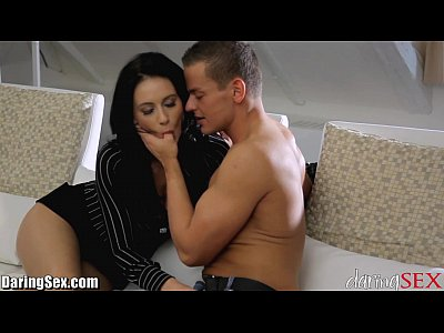 Brunette Milf Passionate video: DaringSex MILF Horny For Some Cock