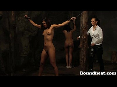 Seems very Naked girl chained whipped join. happens