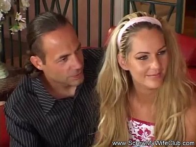 Swingers Threesome Milf video: Cuckold Fantasy Sharing My Wife