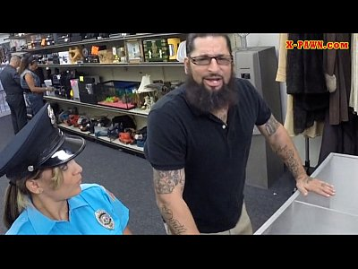 Hardcore Pov Blowjob video: Ms Police Officer with big boobs got fucked with pawn man