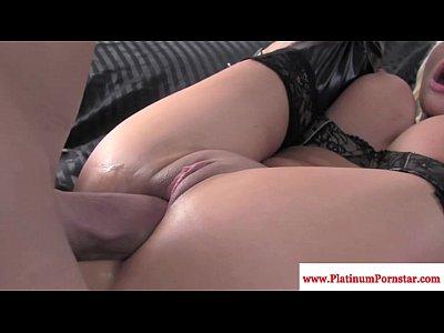Nikita von james gets mouthful of cum
