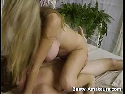 Hot blonde chick Mary riding on white cock