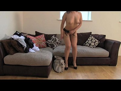 Blowjob British Brunette video: FakeAgentUK Amazing deep throat skills from shy petite amateur