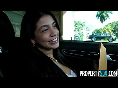Doggystyle Funny Hardcore video: PropertySex - Squirting real estate agent cheers up her client with amazing sex